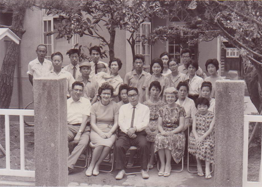 東城キリスト教会 - 特別講師: 本田弘慈師 (1964年)